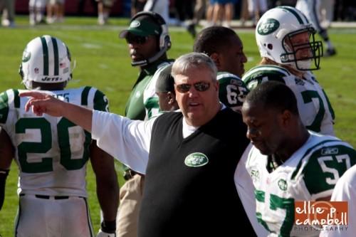 Jets Coach Rex Ryan