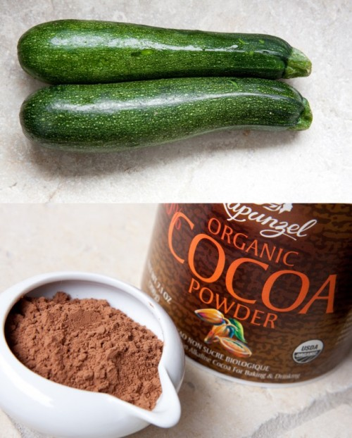 Chocolate and zucchini