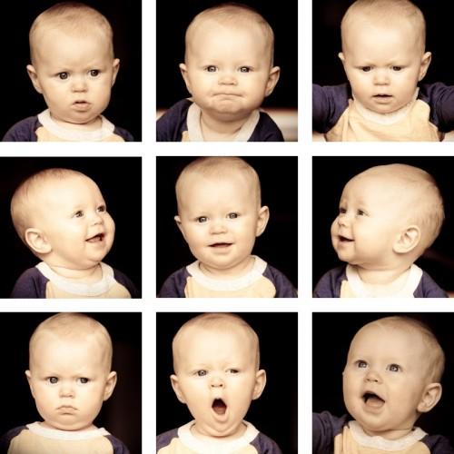 E's faces