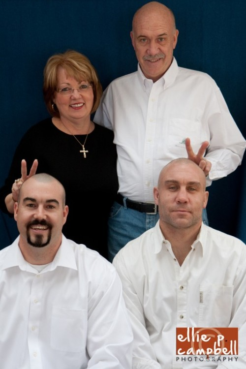 Marcia and Richard with their sons
