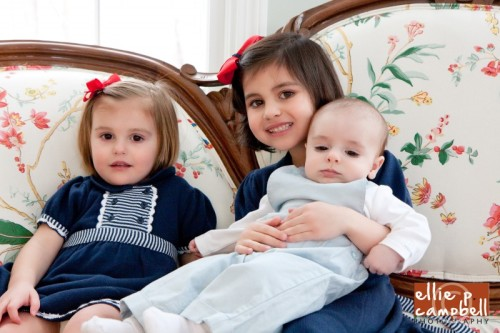 Ava, Sophia, and Tommy