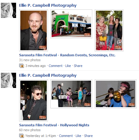new Facebook photos from Sarasota Film Festival