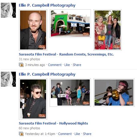 new Facebook photos from Sarasota Film Festival