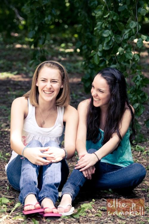 Danielle and Abigail