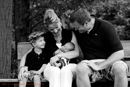 Graham, Tammy, Avery, and Todd