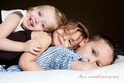 Courtney, Brooke, and Jack