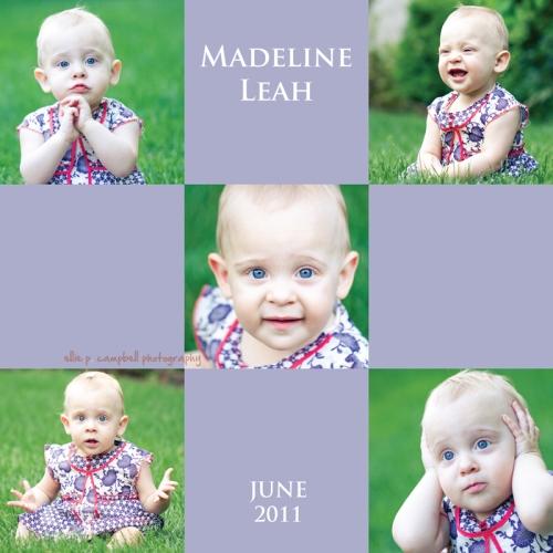 Madeline Leah June 2011