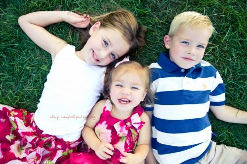 Caroline, Ava, & Matty
