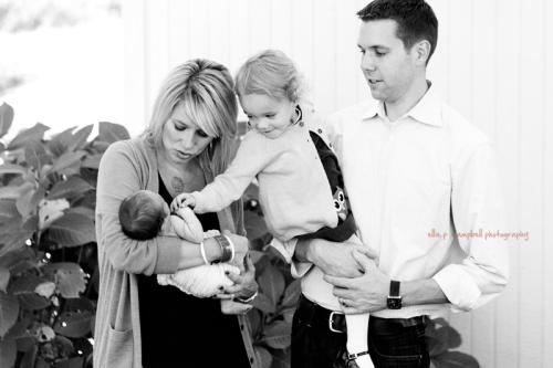 Amber, Wesley, Addie, & Matt