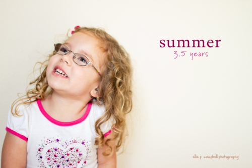 Summer - 3.5 years