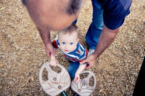 Dad & E