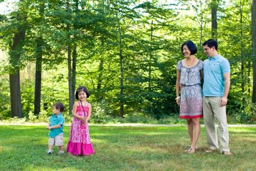 Dylan, Vivian, Rose & Brad
