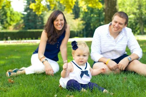 Kristin, Grace & Patrick