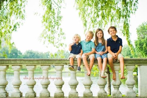 Tommy, Rowan, Maeve & Colin