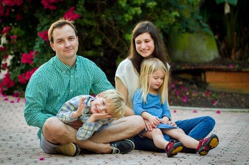 Jimmy, Elliott, Lori & Amelia